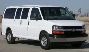 Van 03-08 G1500-G2500 express 2WD
