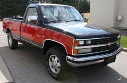 Pick-Up 88-91 K1500 4WD