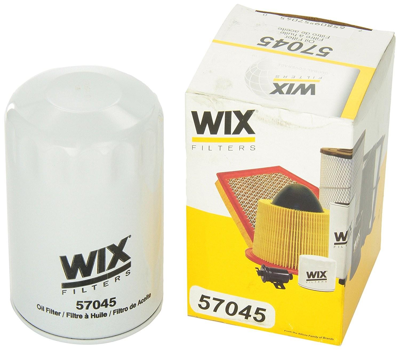 Öljynsuodatin -09 WIX57045 V6 3,7L